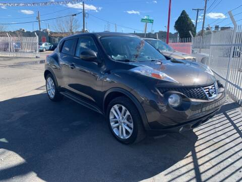 2013 Nissan JUKE for sale at Robert B Gibson Auto Sales INC in Albuquerque NM
