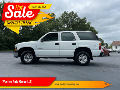 2002 Chevrolet Tahoe for sale at Woolley Auto Group LLC in Poland OH