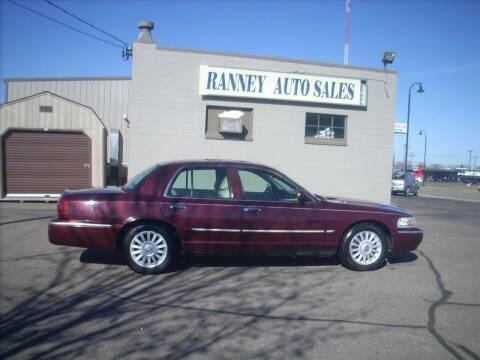 2008 Mercury Grand Marquis for sale at Ranney's Auto Sales in Eau Claire WI