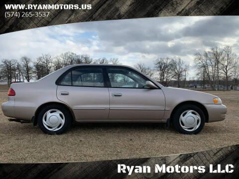 1998 Toyota Corolla for sale at Ryan Motors LLC in Warsaw IN
