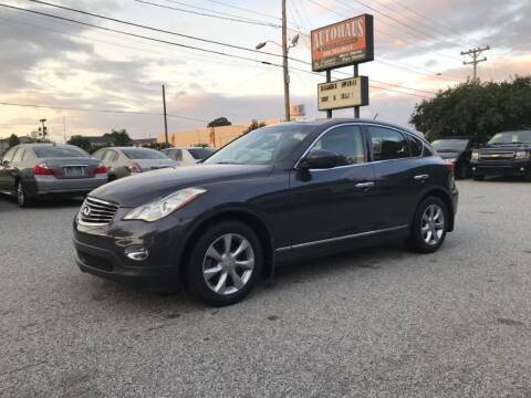 2008 Infiniti EX35 for sale at Autohaus of Greensboro in Greensboro NC