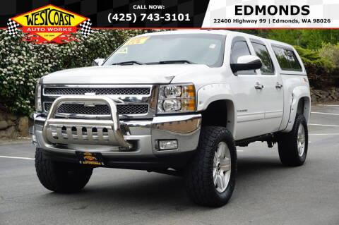2012 Chevrolet Silverado 1500 for sale at West Coast Auto Works in Edmonds WA