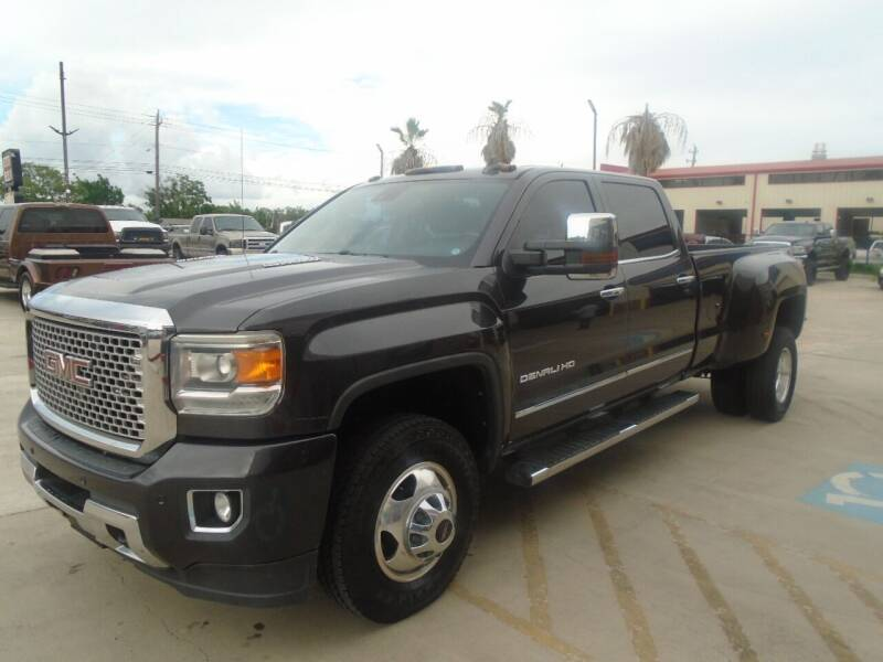 2015 GMC Sierra 3500HD for sale at Premier Foreign Domestic Cars in Houston TX