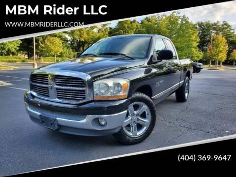 2006 Dodge Ram Pickup 1500 for sale at MBM Rider LLC in Alpharetta GA