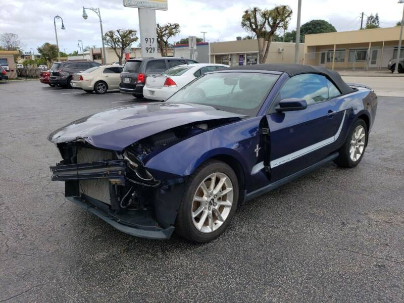 2011 Ford Mustang for sale at KK Car Co Inc in Lake Worth FL