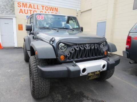2008 Jeep Wrangler for sale at Small Town Auto Sales in Hazleton PA