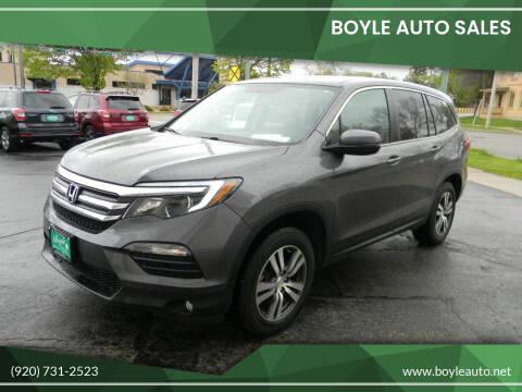 2017 Honda Pilot for sale at Boyle Auto Sales in Appleton WI