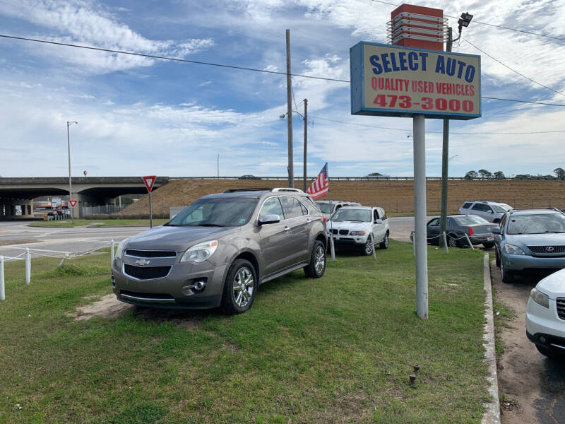 2011 Chevrolet Equinox for sale at SELECT AUTO SALES in Mobile AL
