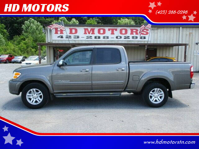 2004 Toyota Tundra for sale at HD MOTORS in Kingsport TN