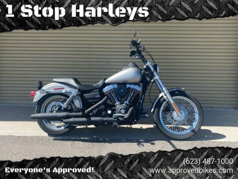 2007 Harley Davidson Street Bob for sale at 1 Stop Harleys in Peoria AZ