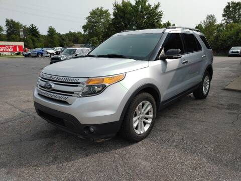2014 Ford Explorer for sale at Cruisin' Auto Sales in Madison IN