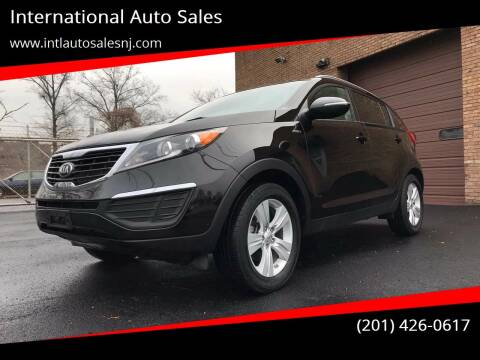 2013 Kia Sportage for sale at International Auto Sales in Hasbrouck Heights NJ