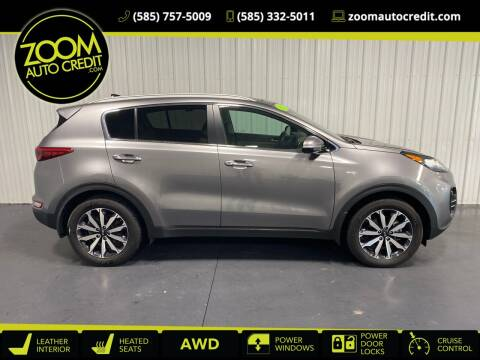 2017 Kia Sportage for sale at ZoomAutoCredit.com in Elba NY