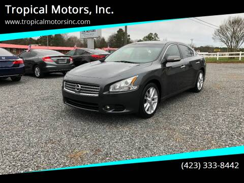 2011 Nissan Maxima for sale at Tropical Motors, Inc. in Riceville TN