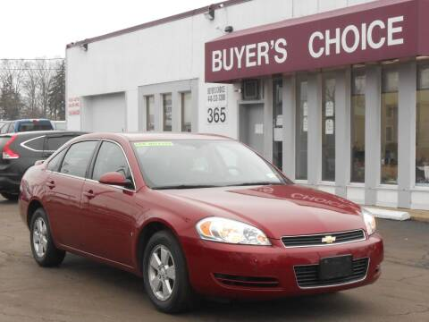 2008 Chevrolet Impala for sale at Buyers Choice Auto Sales in Bedford OH