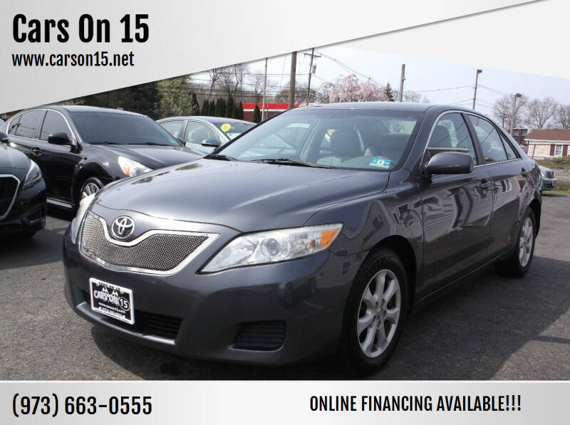 2011 Toyota Camry for sale at Cars On 15 in Lake Hopatcong NJ