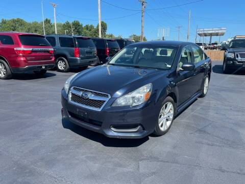 2013 Subaru Legacy for sale at Jerry & Menos Auto Sales in Belton MO