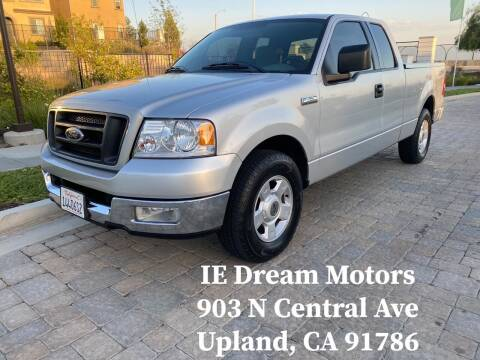 2004 Ford F-150 for sale at IE Dream Motors-Upland in Upland CA