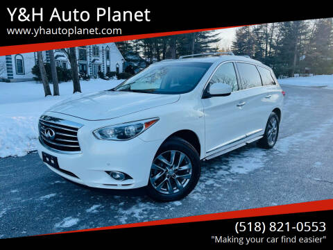 2014 Infiniti QX60 for sale at Y&H Auto Planet in West Sand Lake NY