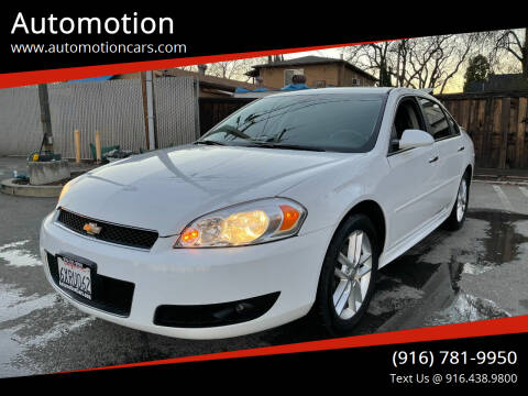 2013 Chevrolet Impala for sale at Automotion in Roseville CA