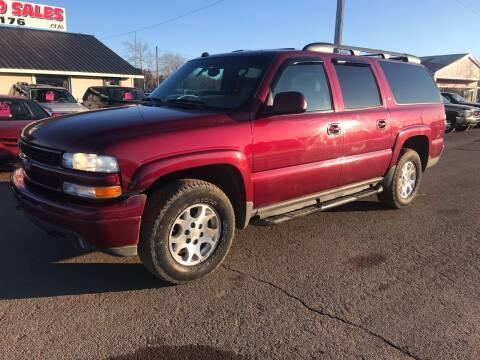 2005 Chevrolet Suburban for sale at BLAESER AUTO LLC in Chippewa Falls WI