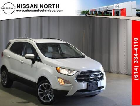 2020 Ford EcoSport for sale at Auto Center of Columbus in Columbus OH