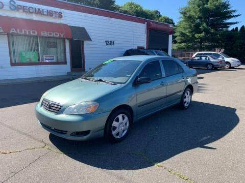 2007 Toyota Corolla for sale at American Auto Specialist Inc in Berlin CT