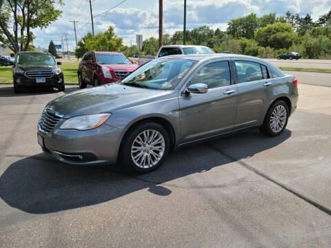 2012 Chrysler 200 for sale at Premier Motors LLC in Crystal MN
