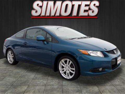 2012 Honda Civic for sale at SIMOTES MOTORS in Minooka IL