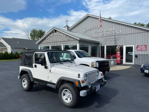 2004 Jeep Wrangler for sale at Empire Alliance Inc. in West Coxsackie NY