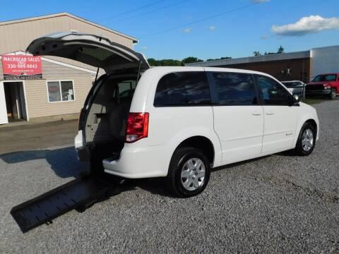 2012 Dodge Grand Caravan for sale at Macrocar Sales Inc in Akron OH