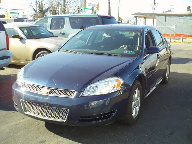 2012 Chevrolet Impala for sale at Marlboro Auto Sales in Capitol Heights MD