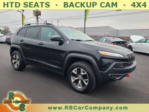 2016 Jeep Cherokee for sale at R & B Car Company in South Bend IN