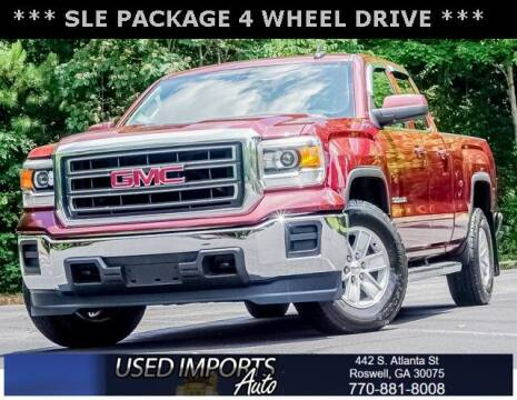 2015 GMC Sierra 1500 for sale at Used Imports Auto in Roswell GA