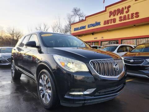 2017 Buick Enclave for sale at Popas Auto Sales in Detroit MI