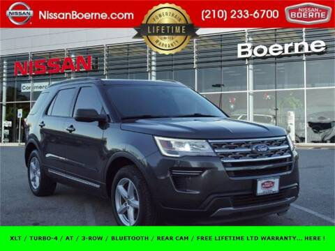 2018 Ford Explorer for sale at Nissan of Boerne in Boerne TX