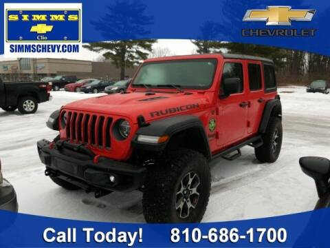 2019 Jeep Wrangler Unlimited for sale at Aaron Adams @ Simms Chevrolet in Clio MI