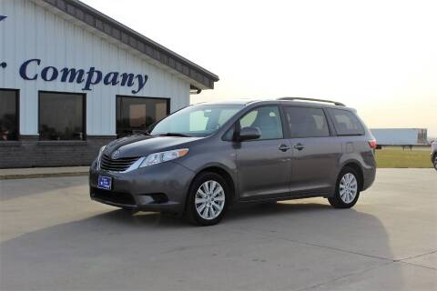 2017 Toyota Sienna for sale at Cresco Motor Company in Cresco IA