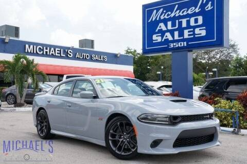2021 Dodge Charger for sale at Michael's Auto Sales Corp in Hollywood FL
