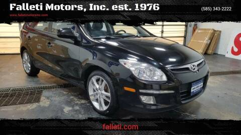 2012 Hyundai Elantra Touring for sale at Falleti Motors, Inc.  est. 1976 in Batavia NY