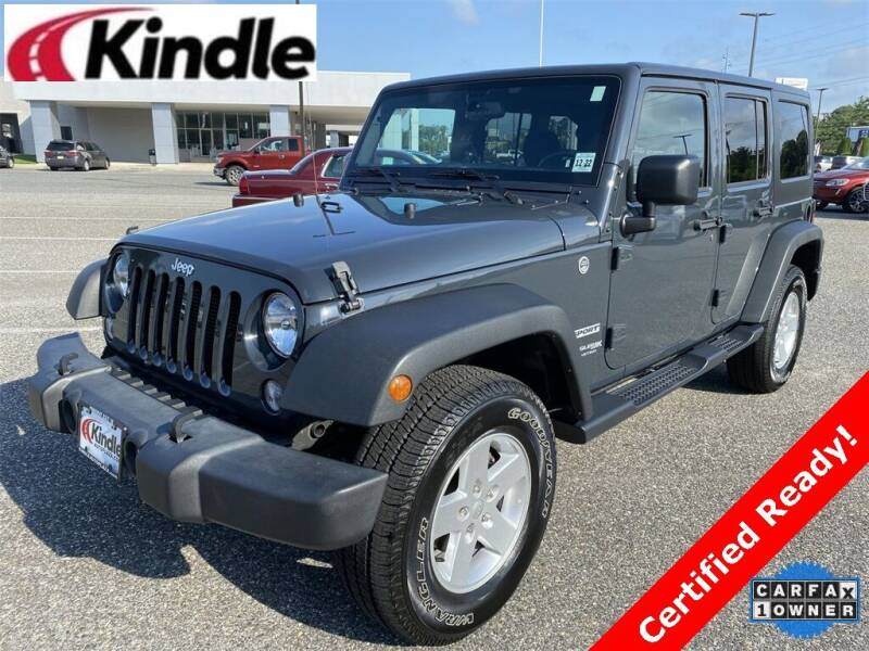 2018 Jeep Wrangler JK Unlimited for sale at Kindle Auto Plaza in Cape May Court House NJ