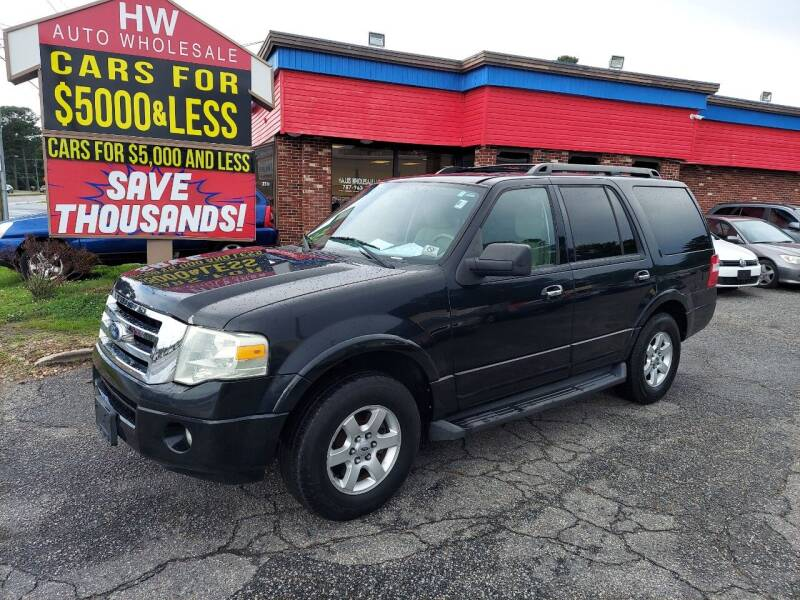 2010 Ford Expedition for sale at HW Auto Wholesale in Norfolk VA