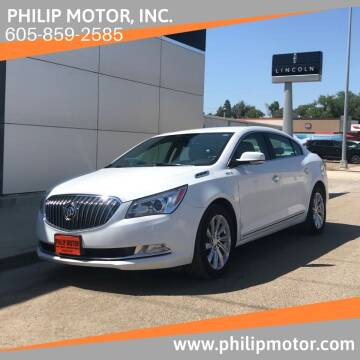 2016 Buick LaCrosse for sale at Philip Motor Inc in Philip SD