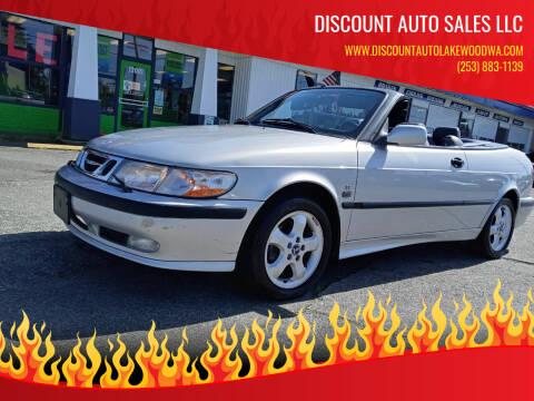 2001 Saab 9-3 for sale at DISCOUNT AUTO SALES LLC in Lakewood WA