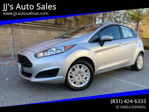 2015 Ford Fiesta for sale at JJ's Auto Sales in Salinas CA