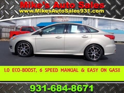2015 Ford Focus for sale at Mike's Auto Sales in Shelbyville TN