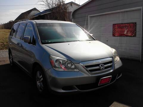 2006 Honda Odyssey for sale at Marty's Auto Sales in Lenoir City TN
