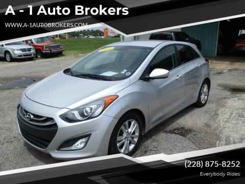 2014 Hyundai Elantra GT for sale at A - 1 Auto Brokers in Ocean Springs MS