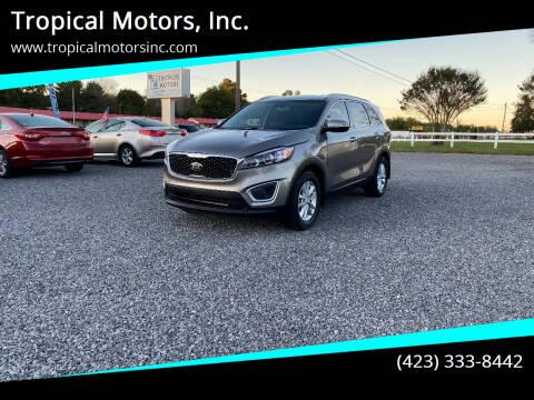 2016 Kia Sorento for sale at Tropical Motors, Inc. in Riceville TN