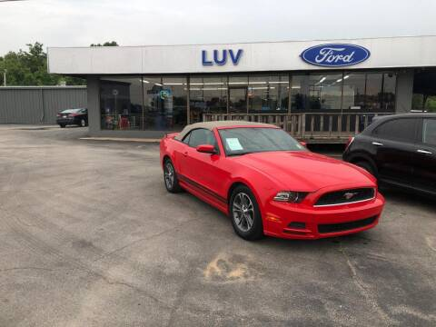 2014 Ford Mustang for sale at Luv Motor Company in Roland OK